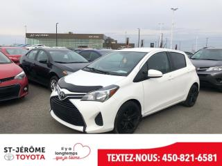 Used 2015 Toyota Yaris * AUTOMATIQUE * AIR * 48 000 KM * GR ÉLEC * for sale in Mirabel, QC
