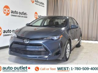 Used 2017 Toyota Corolla Le, 1.8L I4, Fwd, Heated cloth seats, Backup camera, Bluetooth for sale in Edmonton, AB