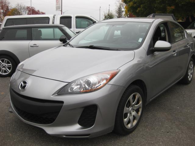 2013 Mazda MAZDA3 GX 2.0L 4cyl FWD Manual PL PM PW