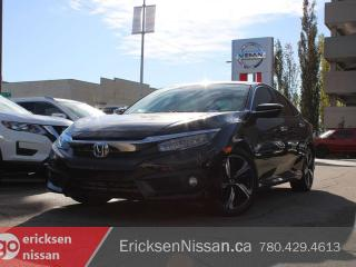 Used 2017 Honda Civic Sedan TOURING l Leather l Roof l Heated Seats for sale in Edmonton, AB