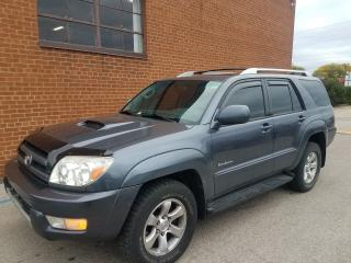 Used 2005 Toyota 4Runner SPROT EDITION-LEATHER SUNROOF for sale in Oakville, ON