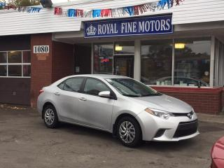 Used 2016 Toyota Corolla 4dr Sdn CVT LE for sale in Toronto, ON
