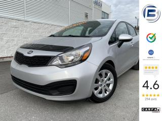 Used 2015 Kia Rio LX for sale in St-Hyacinthe, QC