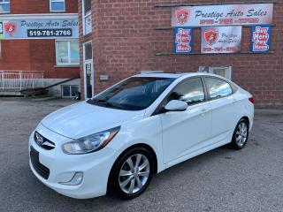 Used 2012 Hyundai Accent GLS/1.6L/SAFETY INCLUDED for sale in Cambridge, ON