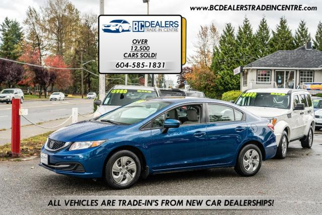 2014 Honda Civic LX, Heated Seats, Bluetooth, A/C, Automatic!