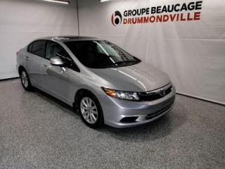 Used 2012 Honda Civic EX for sale in Drummondville, QC
