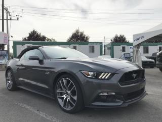 Used 2016 Ford Mustang GT Convertible Premium for sale in St-Eustache, QC