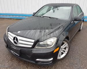 Used 2013 Mercedes-Benz C-Class C300 4MATIC *LEATHER-SUNROOF* for sale in Kitchener, ON