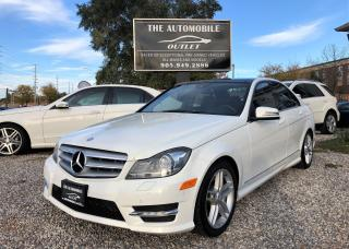 Used 2012 Mercedes-Benz C 300 C300 4MATIC AWD LOW KMS LOADED NAVI NO ACCIDENT for sale in Mississauga, ON