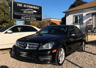 Used 2013 Mercedes-Benz C 300 C 300 4MATIC AWD LOW KMS NAVI NO ACCIDENT for sale in Mississauga, ON