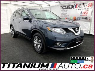 Used 2016 Nissan Rogue SL+AWD+GPS+360 Camera+Blind Spot+Pano Roof+Leather for sale in London, ON