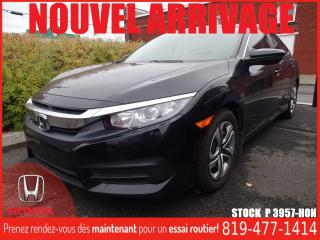 Used 2016 Honda Civic LX+A/C+REGVIT+SIÈGECHAUFF+++ for sale in Drummondville, QC