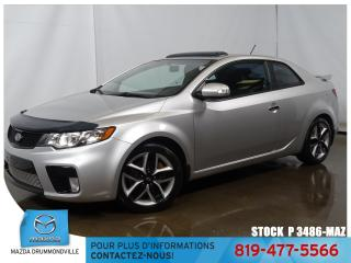 Used 2010 Kia Forte Koup |SX|CUIR|BLUETOOTH|TOITOUV|MAG|AUTOMATIQUE| for sale in Drummondville, QC