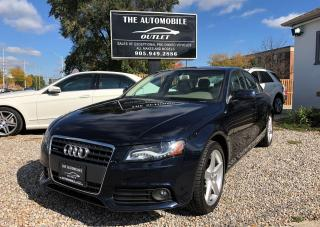 Used 2011 Audi A4 2.0T Premium Plus ONE OWNER LOW KMS NO ACCIDENT for sale in Mississauga, ON