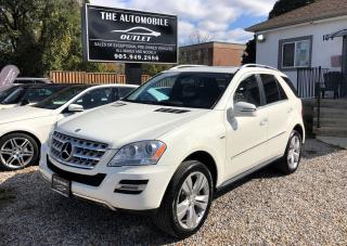 Used 2011 Mercedes-Benz ML 350 ML 350 BlueTEC DIESEL FULLY LOADED NO ACCIDENT for sale in Mississauga, ON