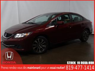 Used 2015 Honda Civic EX+MAG+TOITOUV+GRÉLEC+ for sale in Drummondville, QC