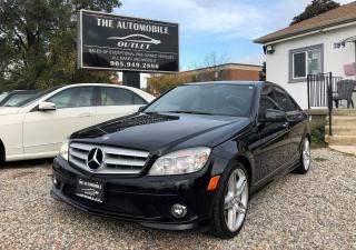 Used 2010 Mercedes-Benz C350 C 350 NAVI BACK UP CAM PANO ROOF NO ACCIDENT for sale in Mississauga, ON