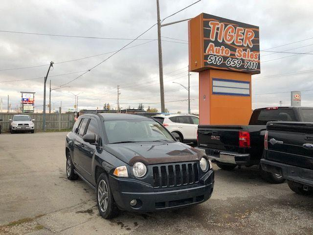 2008 Jeep Compass Sport**4X4**ONLY 163 KMS**AUTO**4 CYLINDER**AS IS
