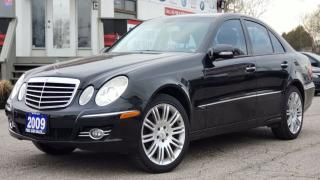 Used 2009 Mercedes-Benz E-Class AVANTGARDE| E300 4MATIC | CERTIFIED| NAVI SENSORS|3.0L GREAT ON GAS for sale in Mississauga, ON