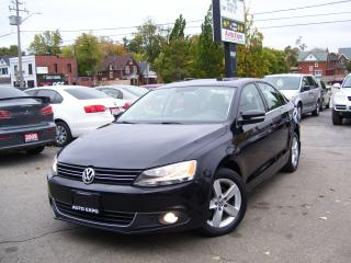 Used 2014 Volkswagen Jetta COMFORTLINE,DIESEL,AUTO,A/C,ONTARIO CAR,SUN ROOF for sale in Kitchener, ON