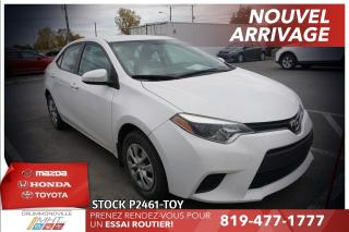 Used 2015 Toyota Corolla A/C* AUTOMATIQUE* BAS KILO* for sale in Drummondville, QC