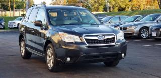 Used 2014 Subaru Forester Touring Certified 2 Yrs Warranty Leather Nav Cam for sale in Mississauga, ON