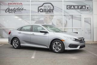 Used 2017 Honda Civic LX ***GARANTIE 10 ANS/200 000 KM*** for sale in Québec, QC