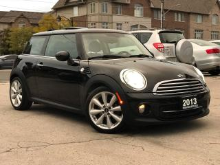 Used 2013 MINI Cooper Accident free|Navi|Leather|Sunroof|Bluetooth for sale in Burlington, ON