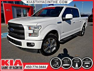 Used 2017 Ford F-150 LARIAT SPORT CREWCAB 4X4 ECOBOOST for sale in St-Hyacinthe, QC
