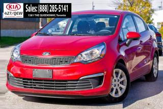 Used 2016 Kia Rio LX+ | Cruise | Bluetooth | CD Player for sale in Etobicoke, ON