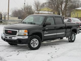 Used 2004 GMC Sierra 2500 SLE-2500 CREW CAB 4X4 V8 for sale in Toronto, ON