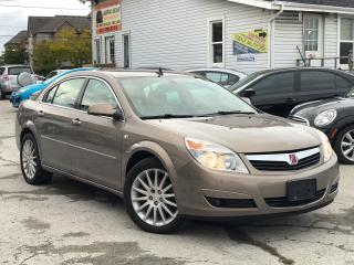 Used 2008 Saturn Aura Accident free|one Owner|Leather|Alloys|Low KM for sale in Burlington, ON