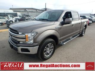 Used 2018 Ford F-150 LARIAT SuperCrew 4WD for sale in Calgary, AB