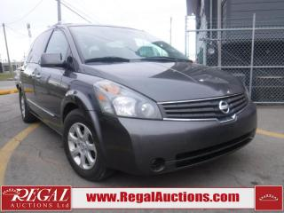 Used 2007 Nissan QUEST  4D SPORTSVAN for sale in Calgary, AB