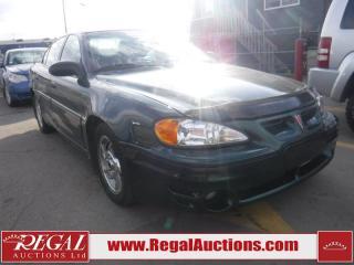 Used 2002 Pontiac GRAND AM GT1 4D SEDAN for sale in Calgary, AB