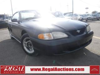 Used 1995 Ford Mustang 2D Coupe 3.8L for sale in Calgary, AB