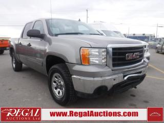 Used 2009 GMC Sierra 1500 SL 4D Crew CAB 4WD for sale in Calgary, AB