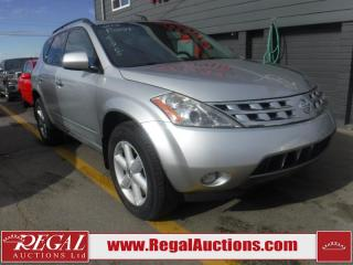 Used 2005 Nissan Murano SE 4D Utility AWD for sale in Calgary, AB