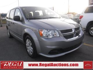 Used 2014 Dodge Grand Caravan 4D Sports VAN for sale in Calgary, AB