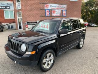 Used 2014 Jeep Patriot North/4X4/2.4L/ONE OWNER/NO ACCIDENT/SAFETY INCL for sale in Cambridge, ON
