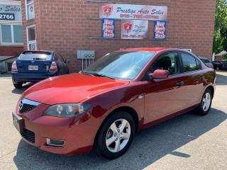 Used 2009 Mazda MAZDA3 2L/ONE OWNER/NO RUST/SAFETY INCLUDED for sale in Cambridge, ON