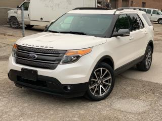 Used 2015 Ford Explorer XLT      4WD for sale in Brampton, ON