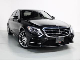 Used 2015 Mercedes-Benz S-Class S550 4MATIC LWB   AMG   HEADS UP DISPLAY   DISTRON for sale in Vaughan, ON
