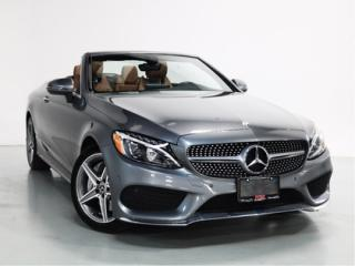 Used 2017 Mercedes-Benz C-Class C300   WARRANTY   AMG   CONVERTIBLE for sale in Vaughan, ON