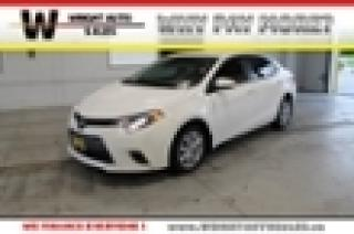 Used 2015 Toyota Corolla LE|TOUCH SCREEN|BACKUP CAMERA|78,406 KMS for sale in Cambridge, ON