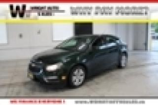 Used 2015 Chevrolet Cruze 1LT|BACKUP CAMERA|KEYLESS ENTRY|61,864 KMs for sale in Cambridge, ON