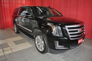 Used 2019 Cadillac Escalade ESV Luxury for sale in Listowel, ON