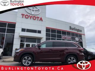 Used 2015 Toyota Highlander LIMITED  for sale in Burlington, ON