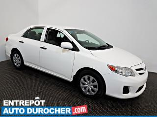 Used 2012 Toyota Corolla Base Automatique - ÉCONOMIQUE for sale in Laval, QC