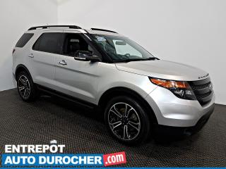 Used 2014 Ford Explorer Sport AWD NAVIGATION - Toit Ouvrant - A/C - Cuir for sale in Laval, QC